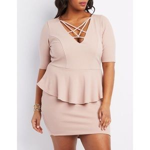 NWT Peplum Style Dress